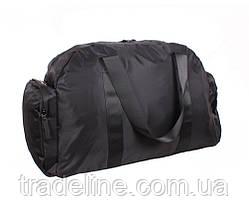 Дорожная сумка Prima D137BLACK338 Черная 30 x 53 x 28 см., фото 2