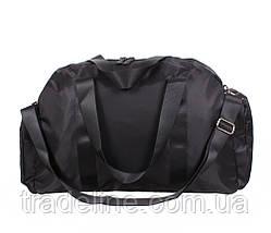 Дорожная сумка Prima D137BLACK338 Черная 30 x 53 x 28 см., фото 3