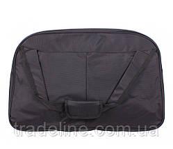 Дорожная сумка Nobol D1803BLACK339 Черная 32 x 48 x 26 см, фото 3