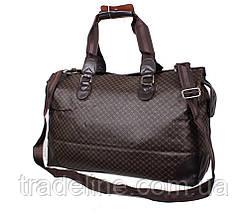 Дорожная сумка Dovhani 4270349 Темно-Коричневая, фото 3