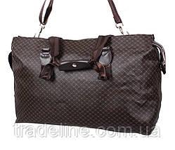 Дорожная сумка Dovhani 4270349 Темно-Коричневая, фото 2