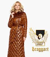 Воздуховик Braggart Angel's Fluff 31012 | Женская зимняя куртка сиена