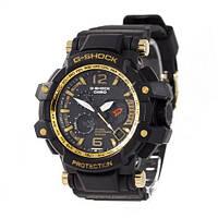 Casio G-Shock Aviator Black/Black/Yellow