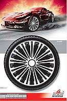 Колпаки колесные Volante Silver Black R14