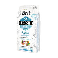 Брит Фреш Brit Fresh Fish/Pumpkin Adult Large 12 kg рыба,тыква для взрослых собак крупных пород