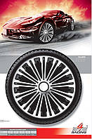 Колпаки колесные Volante Silver Black R16