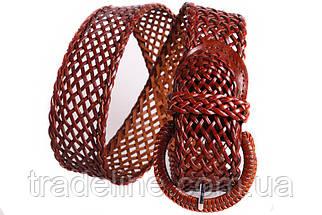 Женский плетеный пояс Dovhani PY4557392 105 см Коричневый, фото 3