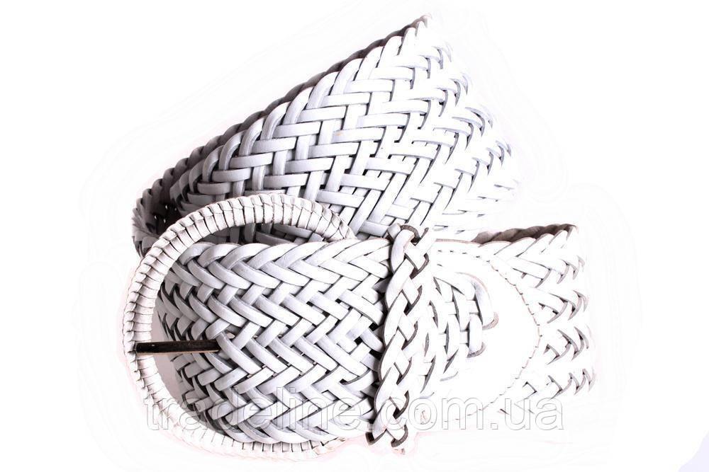 Женский плетеный пояс Dovhani PY4588395 105 см Белый