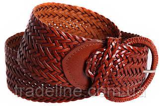 Женский плетеный пояс Dovhani PY4597396 105 см Коричневый, фото 3