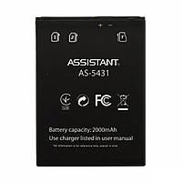 Аккумулятор Assistant AS-5431 (black)  2000mAh оригинал