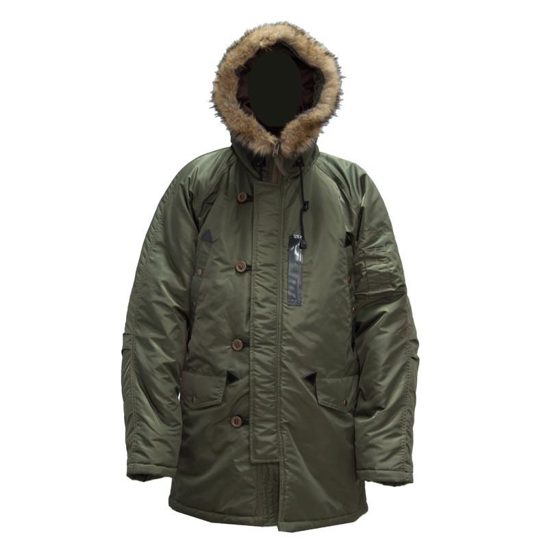 Куртка зимняя Grom Аляска M Олива