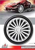 Колпаки колесные Radical Pro White R15