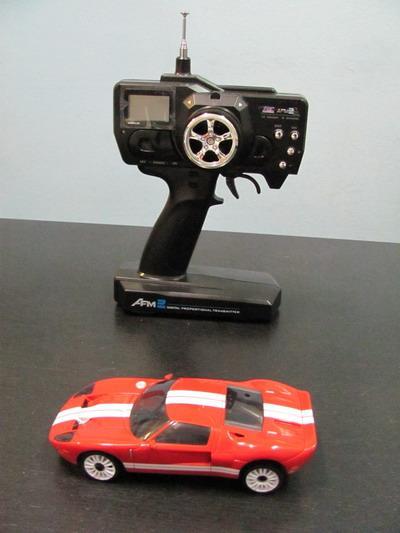 Автомодель на радиоуправлении 1:28  2WD  FORD GT  RTF   27Mhz (красный)