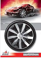 Колпаки колесные Penta Silver Black R13