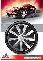 Колпаки колесные Penta Silver Black R14