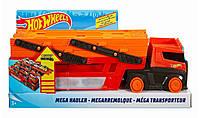 Хот Вилс Автовоз Трейлер транспортер на 50 машинок Hot Wheels Mega Hauler FTF68
