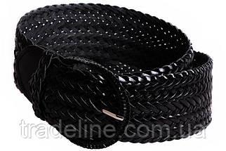 Женский плетеный пояс Dovhani PY4608396 105 см Черный, фото 3