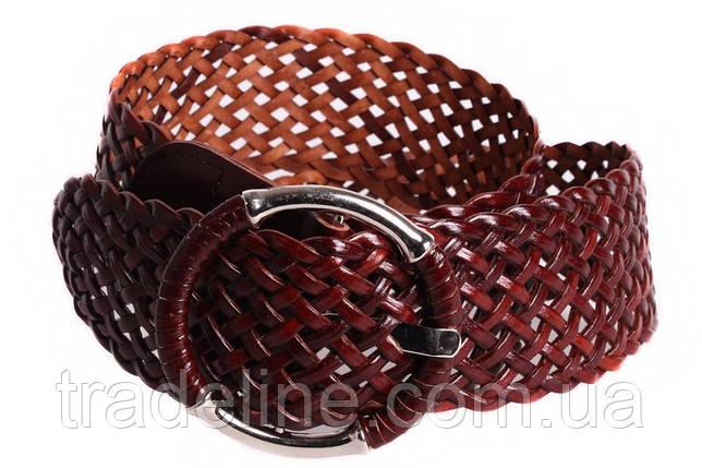 Женский плетеный пояс Dovhani PY4618397 105 см Коричневый, фото 2