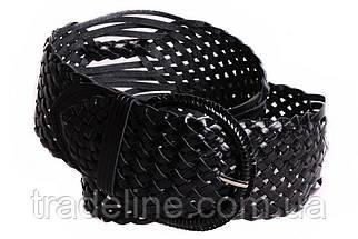 Женский плетеный пояс Dovhani PY4690402 105 см Черный, фото 3