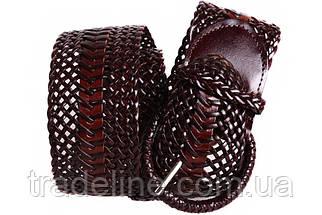Женский плетеный пояс Dovhani PY4740407 105 см Коричневый, фото 2