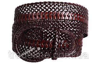 Женский плетеный пояс Dovhani PY4740407 105 см Коричневый, фото 3