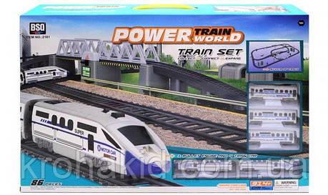 Железная дорога 2181 со звуком и светом, фото 2