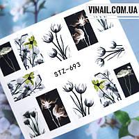 Слайдер-дизайн №693  (водные наклейки)