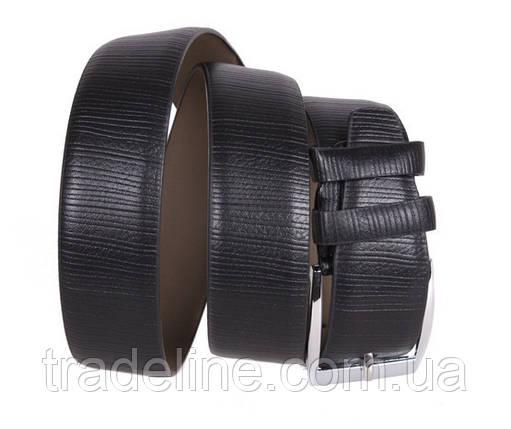 Мужской ремень Dovhani D070844422 115 см Черный, фото 2