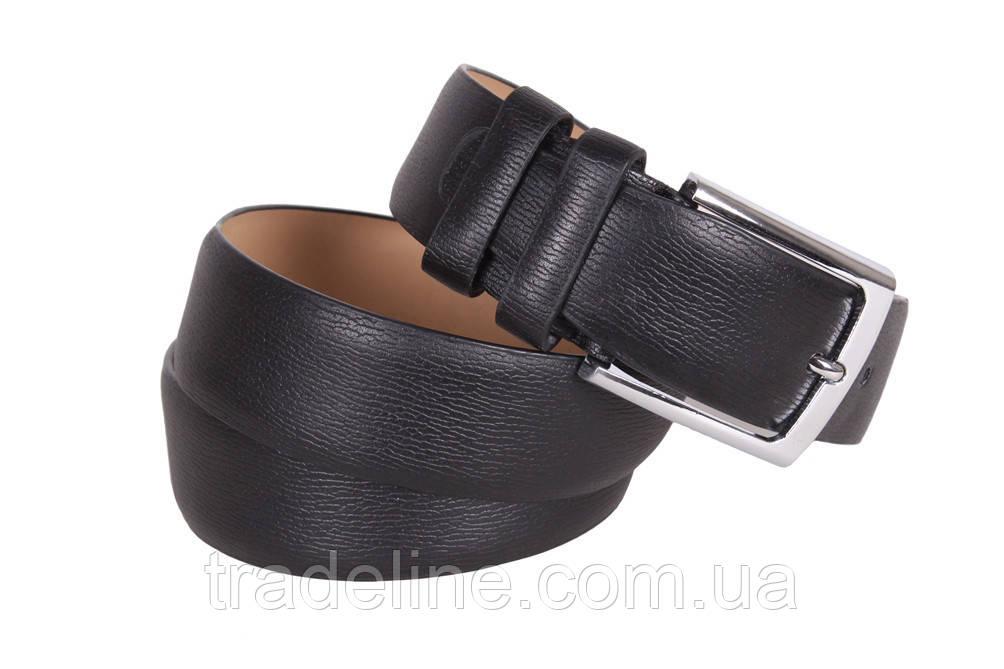 Мужской ремень Dovhani D330728432 115 см Черный