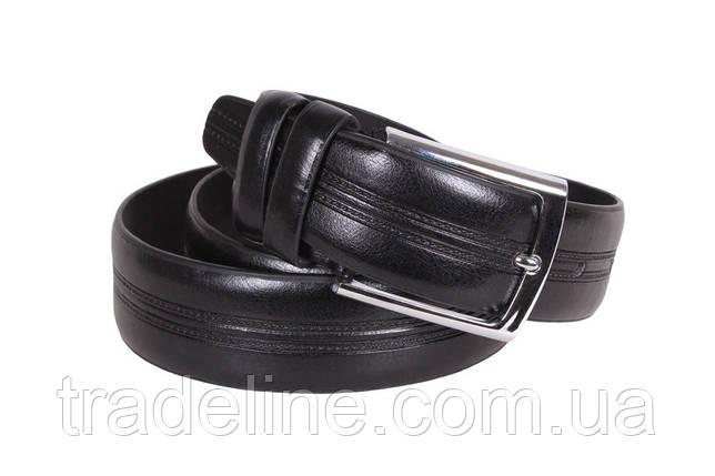 Мужской ремень Dovhani D330729433 115 см Черный, фото 2