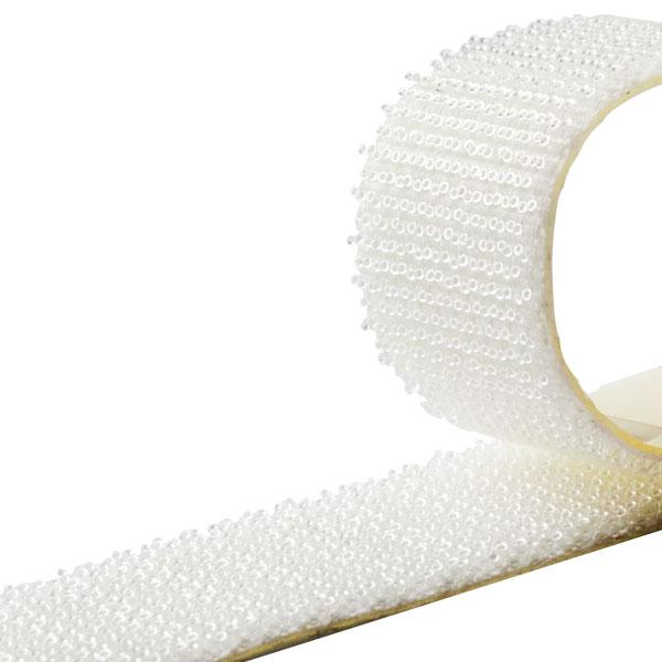 НРХ 85012 - низкопрофильная лента-застежка DUO GRIP MINI - 16мм, прозрачная