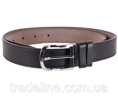 Мужской ремень Dovhani KZM15158-45453 115 см Черный, фото 2