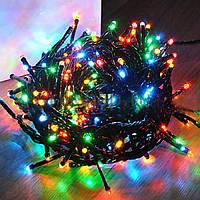 Лампочная гирлянда, 300 лампочек (мульти)