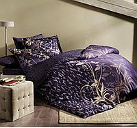 Комплект постельного белья ТАС Alita Mor сатин де люкс 220-200 см фиолетовый, фото 1