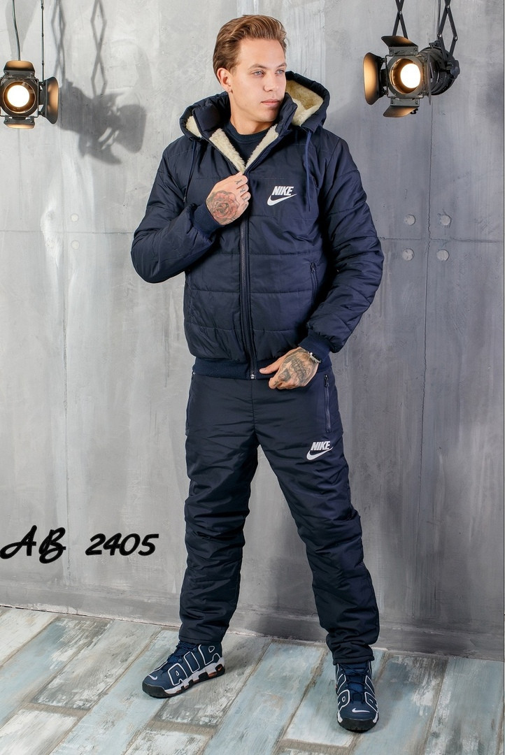 Костюм зимовий чоловічий на овчині куртка+штани.48.50.52.54.