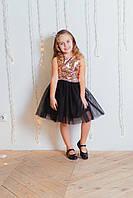 Шикарное нарядное платье пайетка-перевертыш от производителя, фото 1