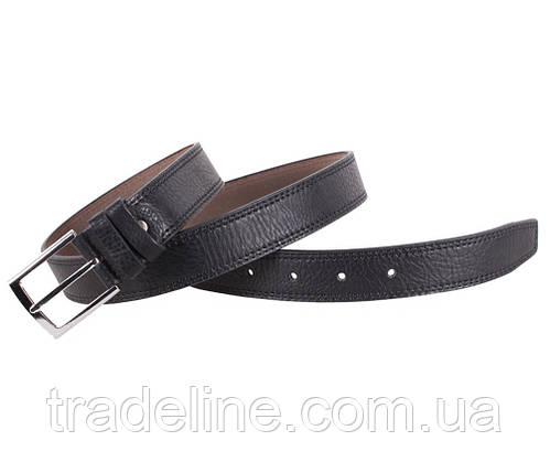 Мужской ремень Dovhani KZM15158-51459 115 см Черный, фото 2