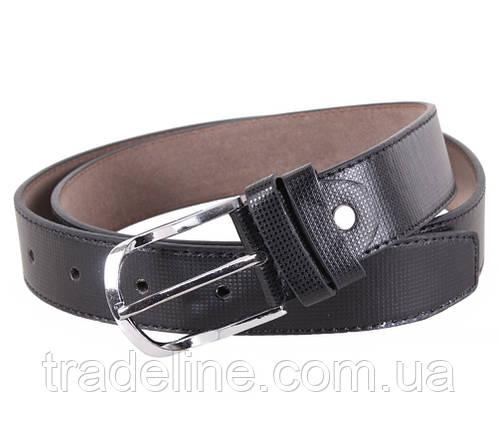 Мужской ремень Dovhani KZM15158-58464 115 см Черный, фото 2