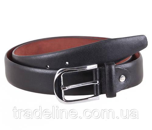Мужской ремень Dovhani KZM15158-60466 115 см Черный, фото 2