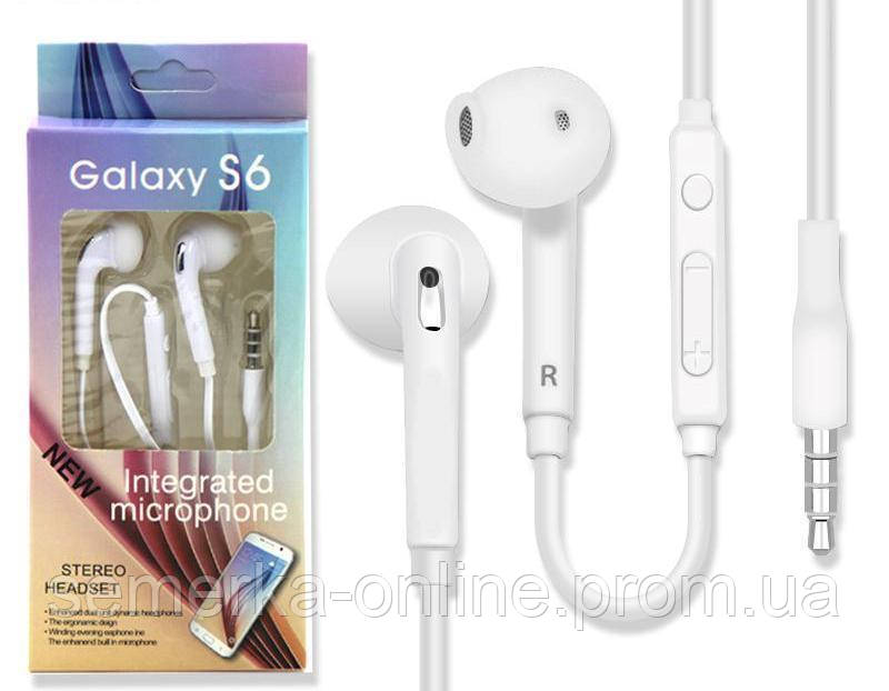 Наушники Stereo Handsfree S6 SM-G920