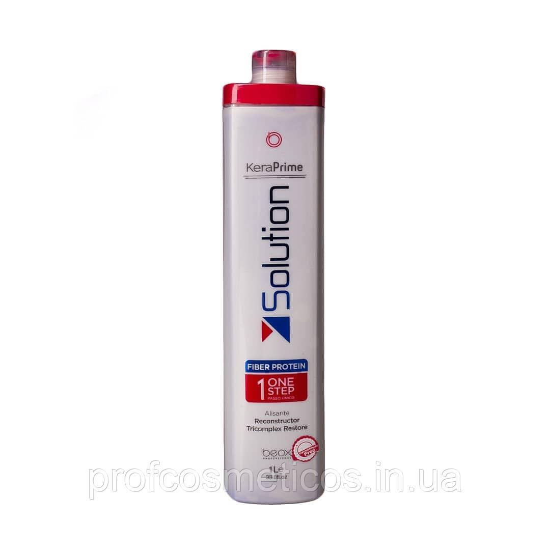 Нанопластика для волос Beox Professional Keraprime Solution One Step, 1000 мл
