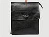 Мужская кожаная сумка через плечо Polo Videng Leather Сумка-планшет+Подарок Polo Leather, фото 2