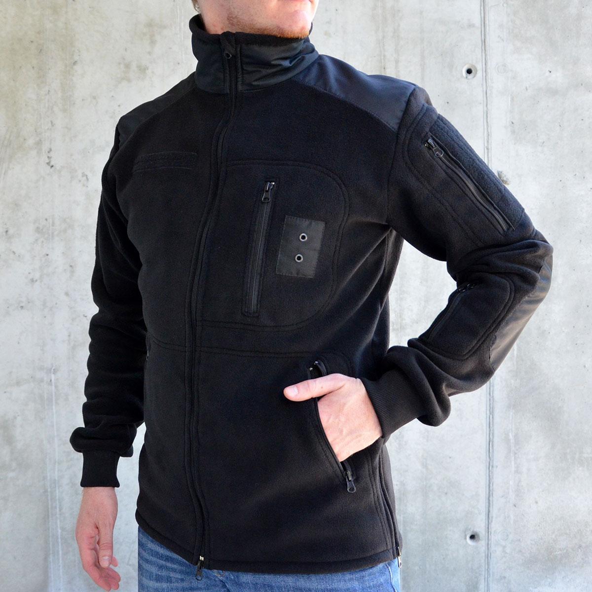 Куртка флисовая Grom Patrol Fleece L3 48 Черная