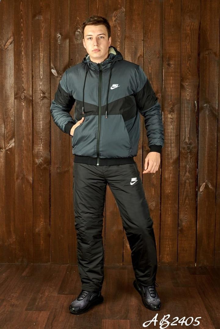 Костюм зимний мужской на овчине куртка+штаны.Размеры: 46.48. 50. 52. 54.