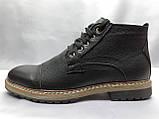 Зимние кожаные ботинки на шнурках Faro, фото 4
