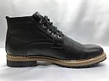 Зимние кожаные ботинки на шнурках Faro, фото 2