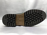 Зимние кожаные ботинки на шнурках Faro, фото 8