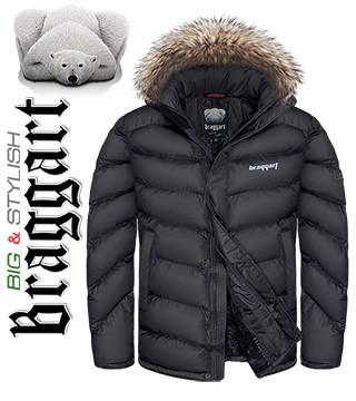 Куртки кэжуал больших размеров с мехом