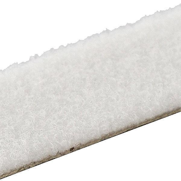 HPX 80003 - самоклеящаяся лента-застежка ZIP FIX - белая - Велюр