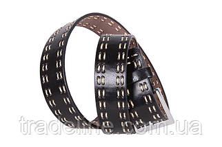 Мужской ремень Dovhani D-30484 115 см Черный, фото 3
